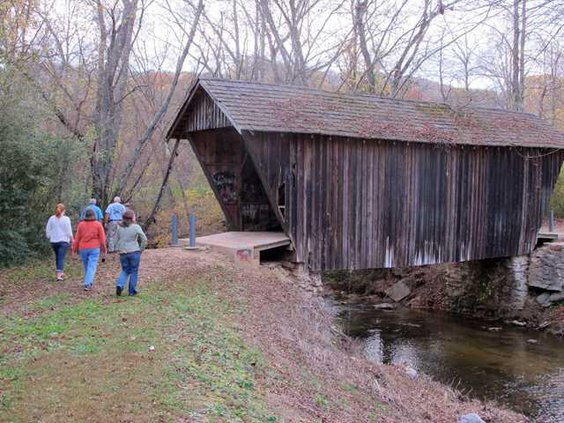 covered bridge 1895