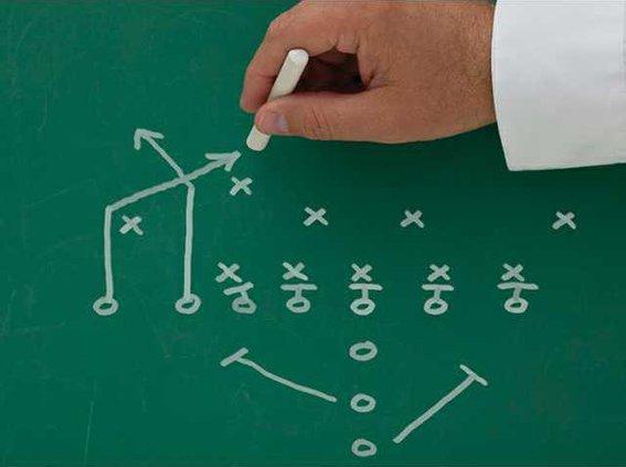 football play diagram