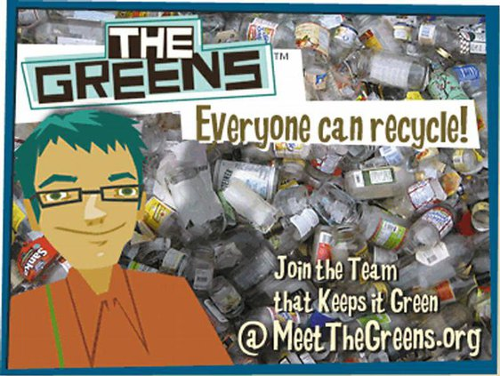 greens promo recycle
