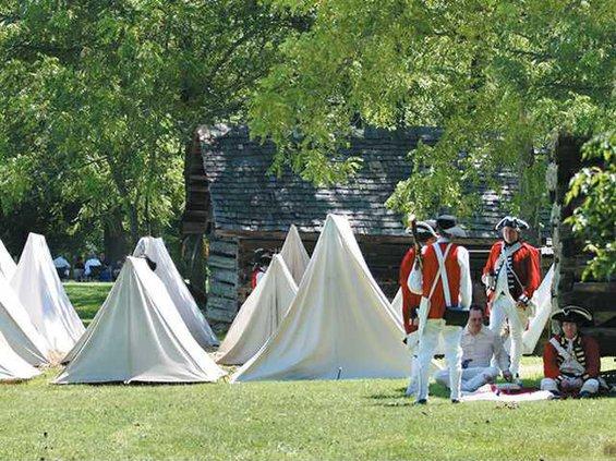 revolutionary war encampment