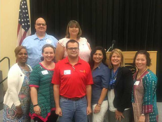 rotary Members at District Meet July 29
