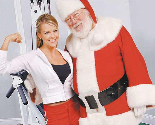 santa and exercise