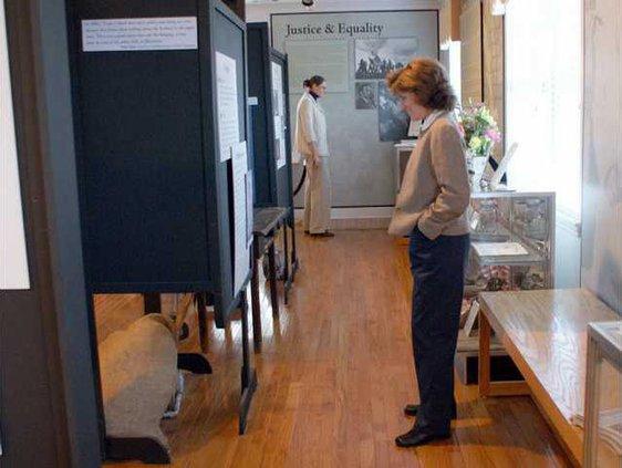 tour in museum