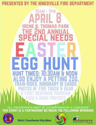 2017 Special Needs Easter Egg Hunt
