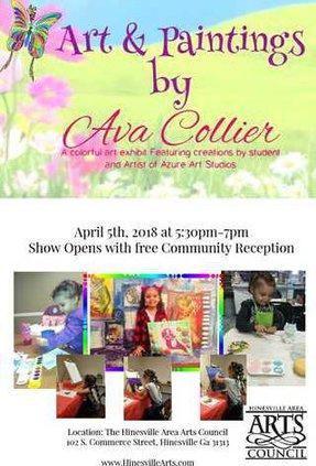April Art Exhibit