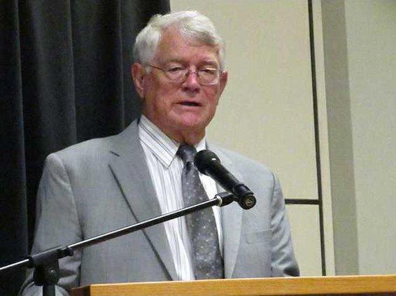Dan Reeves was keynote speaker at  FCA Banquet