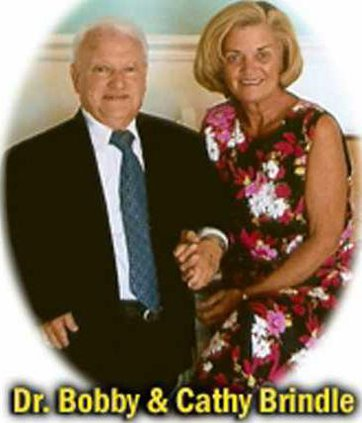 Dr  Brindle and wife