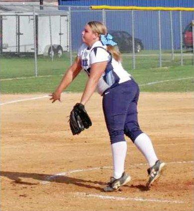 Harley Dawson tosses a pitch