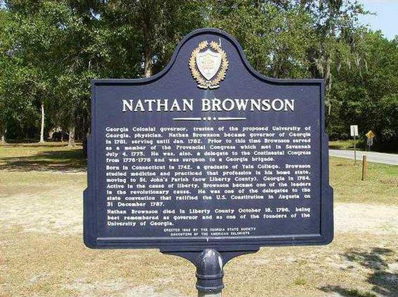 NR Nathan Brownson Marker