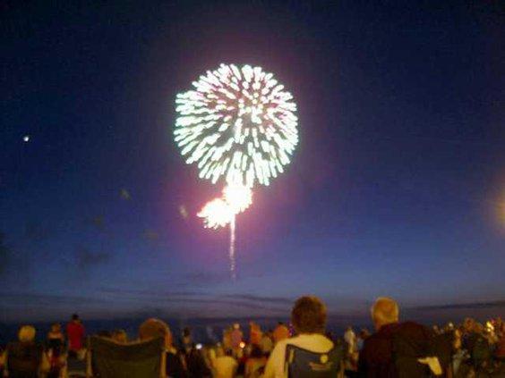brunswick fireworks