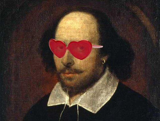shakespeare in glasses