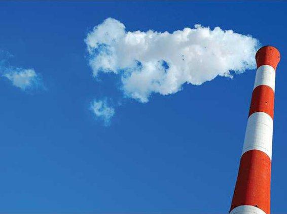 smokestack emission