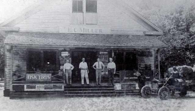 web LORE - E  C  MILLER STORE IN 1910