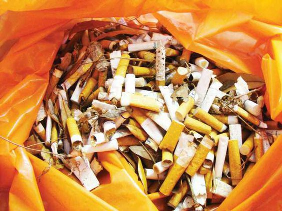 0628 cigarettes collected