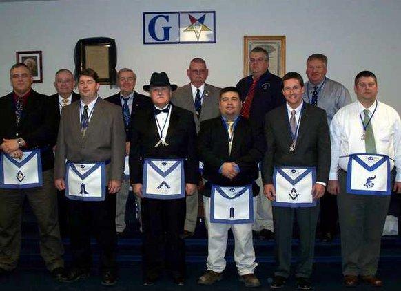 2009 MAsonic Officers-JPEG
