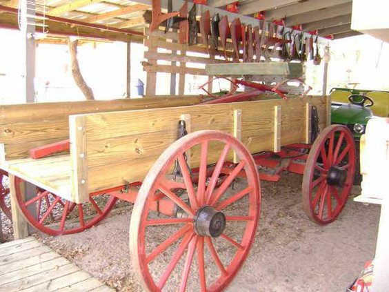 2 Horse Wagon