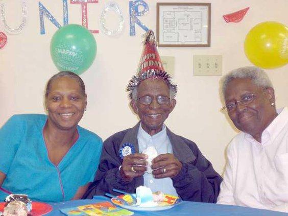 Campbell 100th birthday