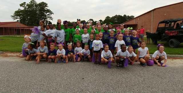 Long Countys Southeast Cheer     team