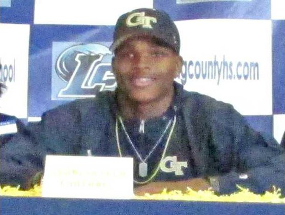 SPORTS - Tariq Carpenter signing