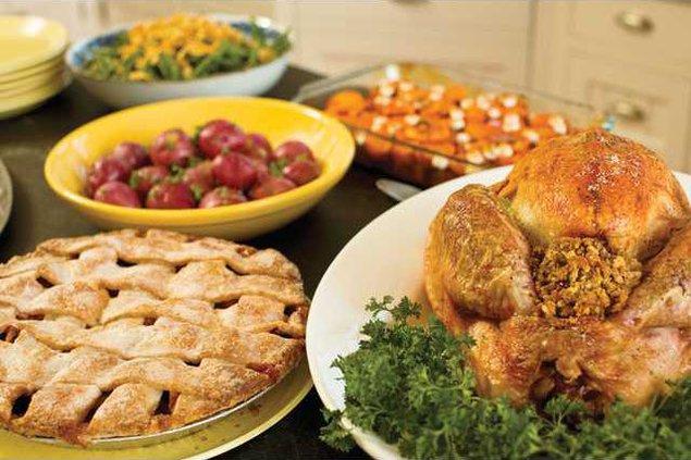 Tgiving feast
