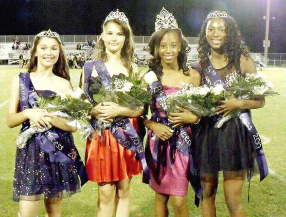 Wed 10-11 Homecoming Court Middle School picture