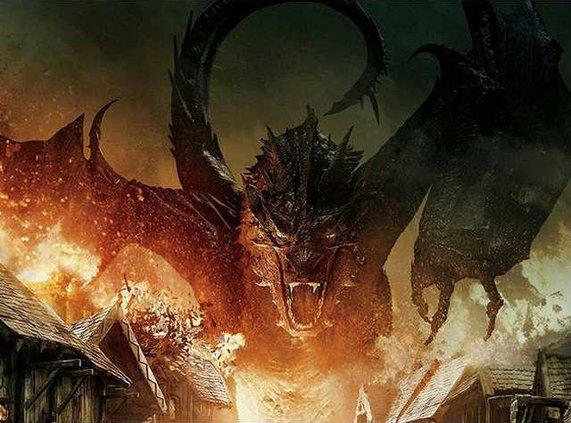 hobbit dragon