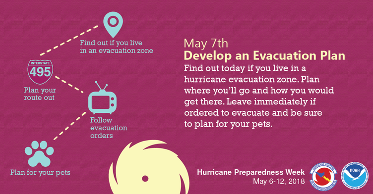 Hurricane evacuation plan 2018