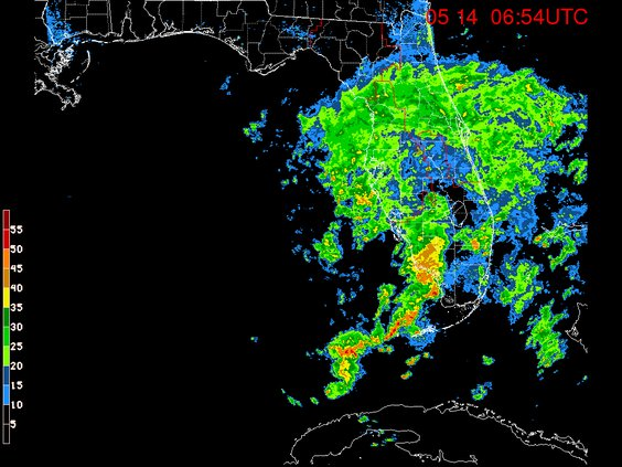 rain over florida may 14 2018
