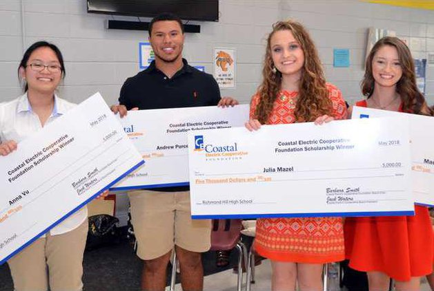 Coastal Electric scholarship