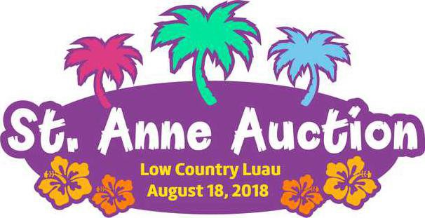 Logo Low Country Luau 2018 Auction