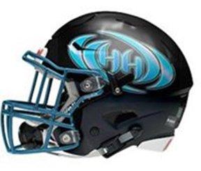 Hinesville Hurricanes helmet