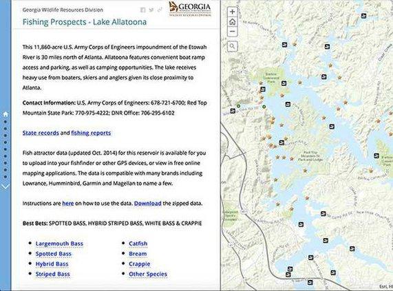FishingProspects ScreenShotweb
