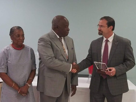 James Thomas Retires from Hospital Board