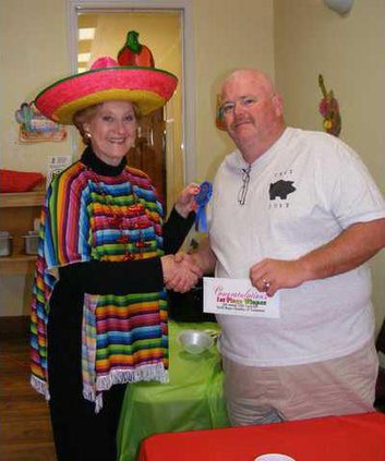 Chili Cook-Off 1st Prize WINNER
