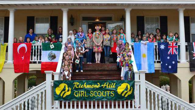 Girl Scouts-group
