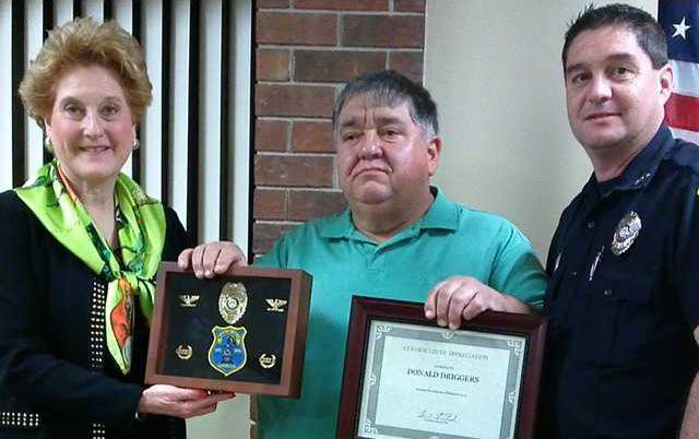 People Driggers honored
