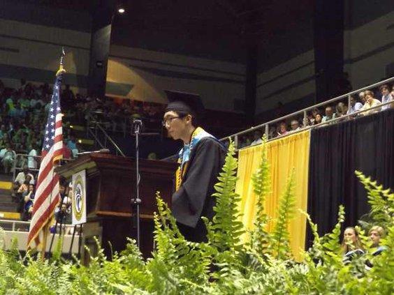 Kevin Zhu RHHS valedictorian