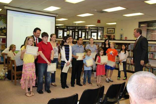 Young authors recognized
