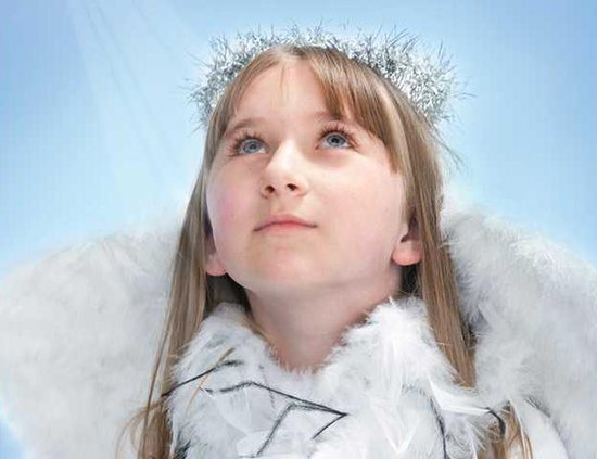 girl as angel