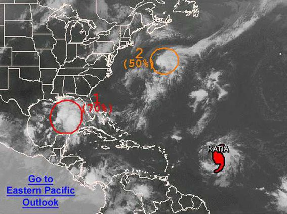 tropical  weather thur noon