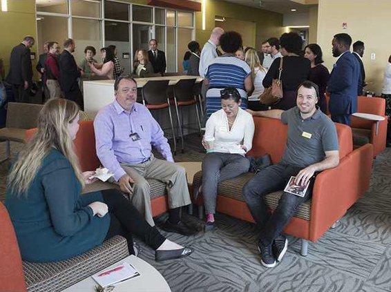 Photo - Student Success Center reception