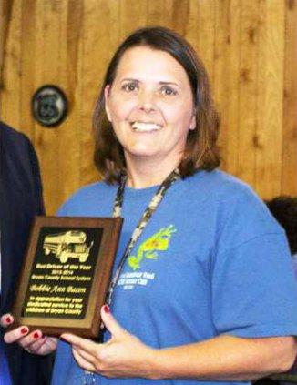 Bus Driver of the Year 2013-14 North Bryan - Bobbie Ann Bacon