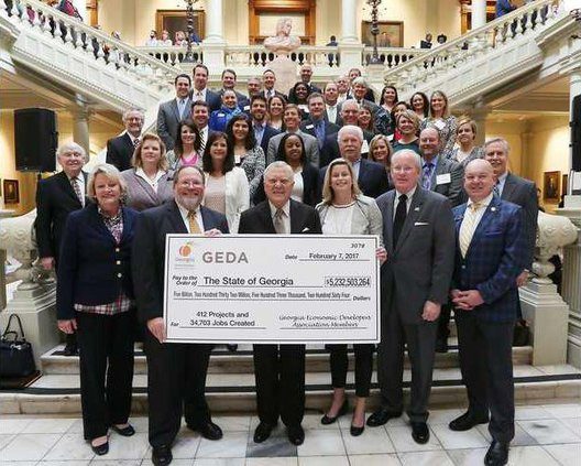 GEDA with Governor Deal