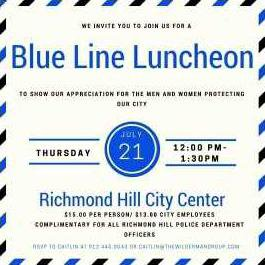 Police luncheon