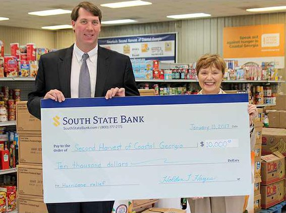 Sbank donation to second harvest