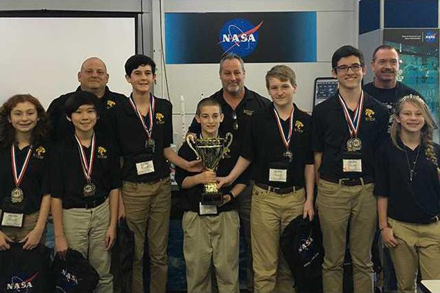 Space Center Overall Winners 16-17