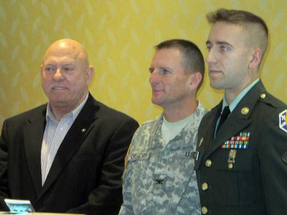 Tom Jack Col. Kevin Gregory  Spc. John Womer