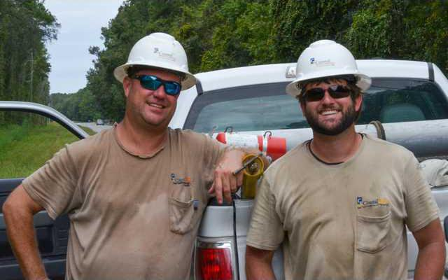 Two happy Linemen
