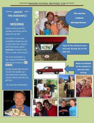 missing man poster