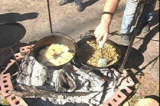 open-fire cooking